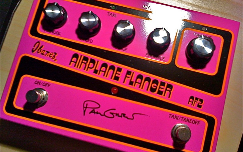 Ibanez Airplane Flanger AF2 Paul Gilbert Signature
