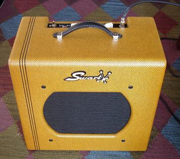 Swart - STR Tweed Front