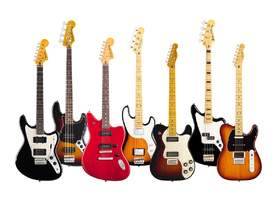 fender modern player series family