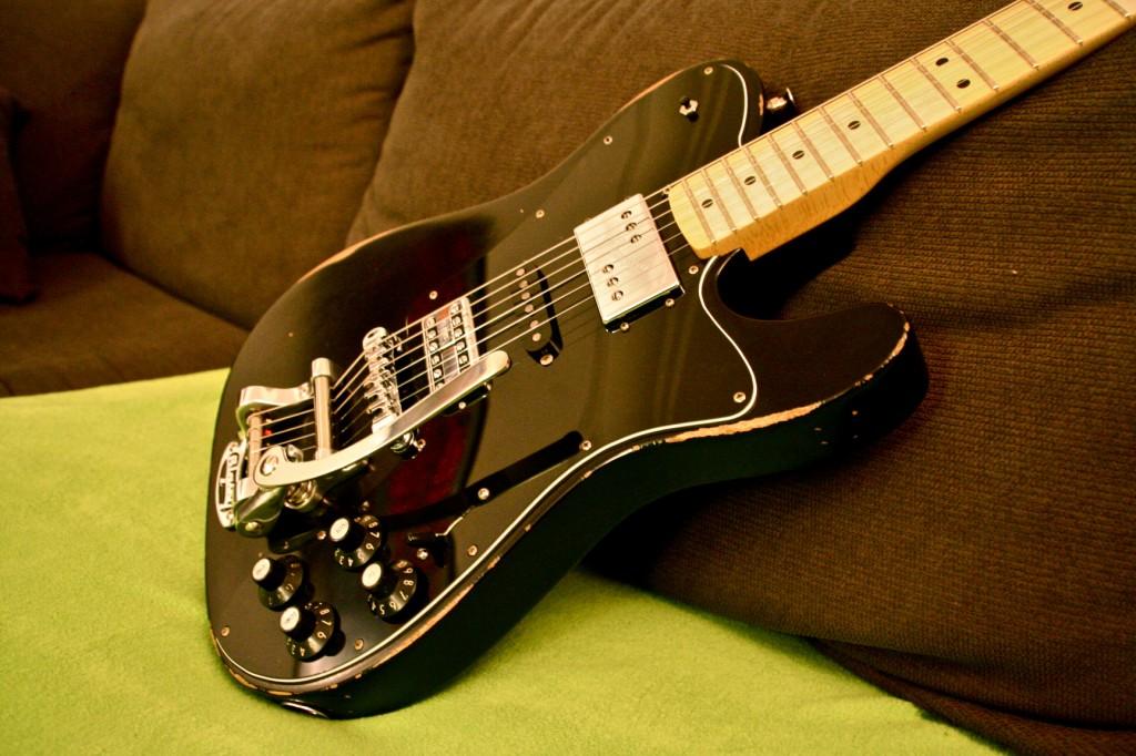Fender Telecaster 72 Deluxe Telestrated Mxv