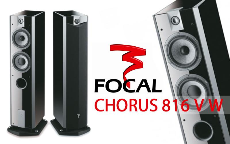Enceintes FOCAL Chorus 816 VW