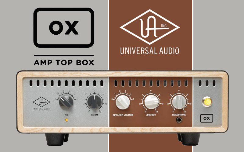 Universal Audio OX Top Box