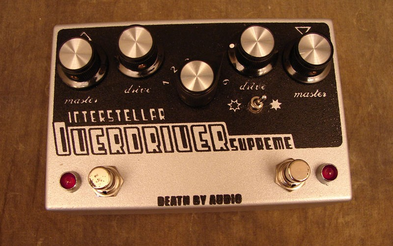 Death by Audio Interstellar Overdriver Supreme