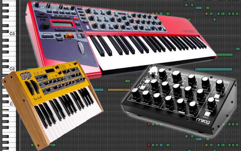 Synths invasion – introduction aux synthétiseurs