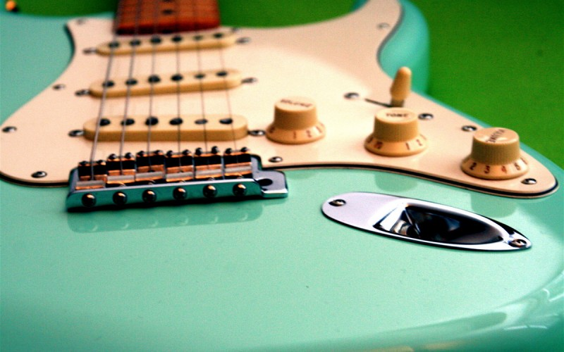 Fender Stratocaster 50's Surf Green Steffsen Upgrade
