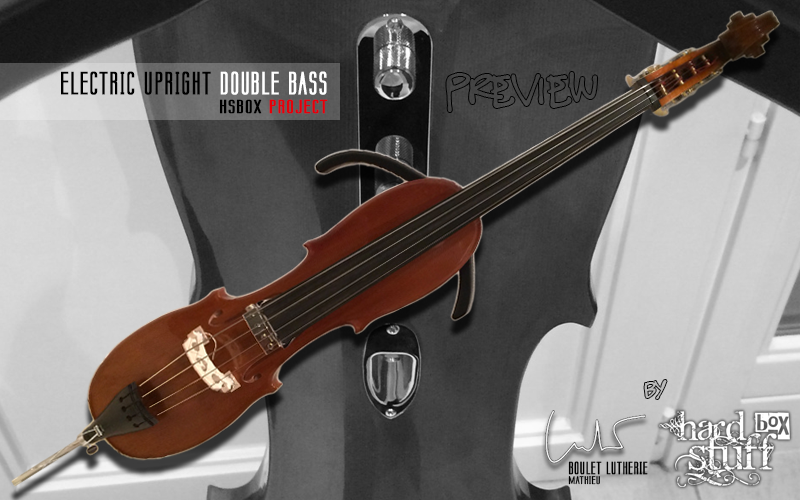 HSBOX Project : Electric Upright Double Bass preview