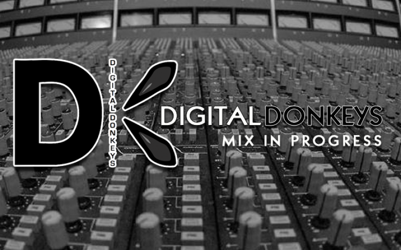 Digital Donkeys : mix in progress