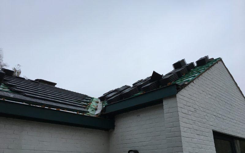 Nouvelle toiture pour le H34