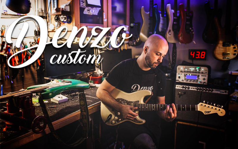 Denzo Custom Guitarz – Atelier de Lutherie à Liège