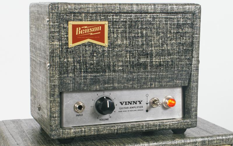 Benson Amps and the one knob wonder Vinny amp