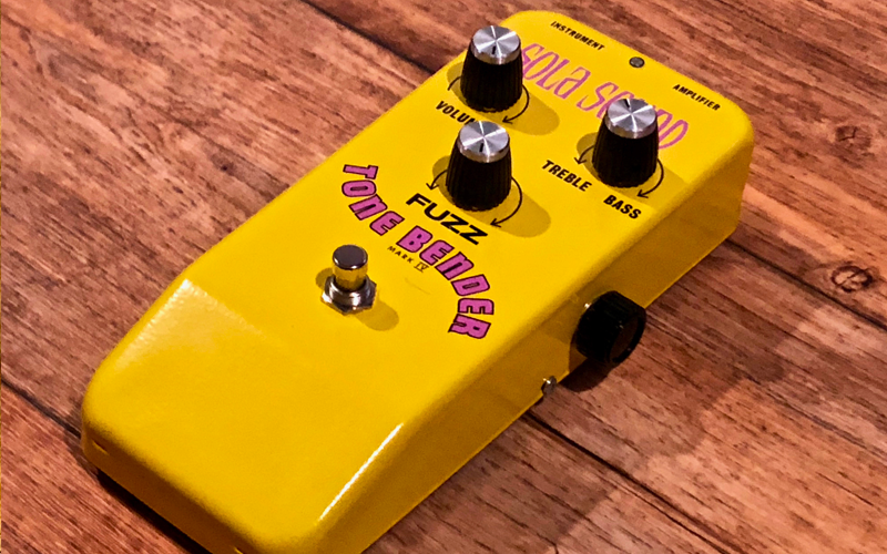 Sola Sound Tone Bender MKIV Custom Fruit Salad