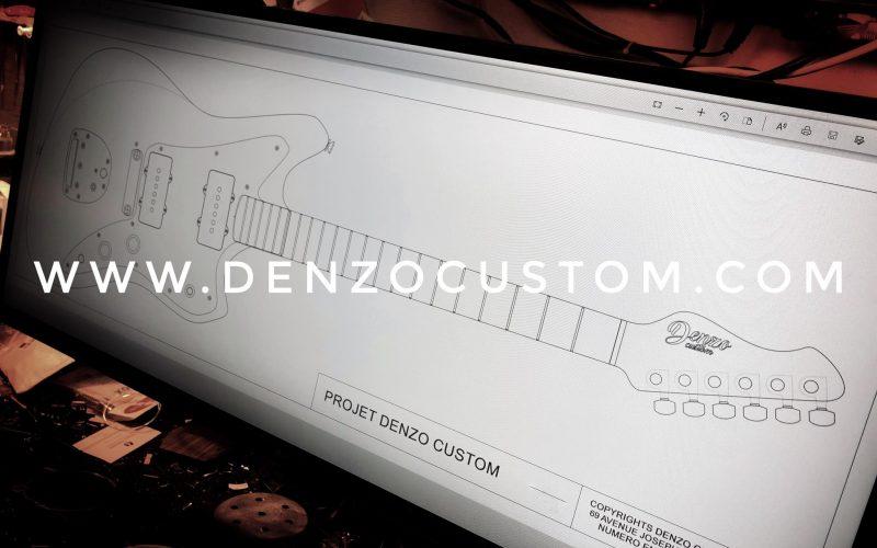 Projet Jazzmaster Denzo Custom
