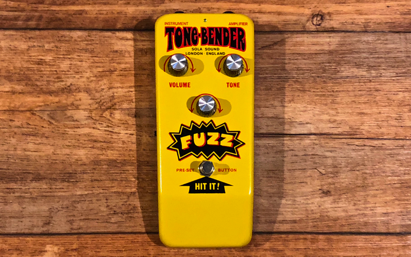 Sola Sound Yellow Hybrid OC140 Tone Bender